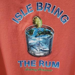 Tommy Bahama Isle Bring The Rum Tshirt Size M